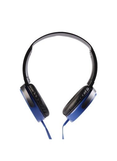 MF Product MF Product Acoustic 0106 Mikrofonlu Kablolu Kulak Üstü Kulaklık Mavi